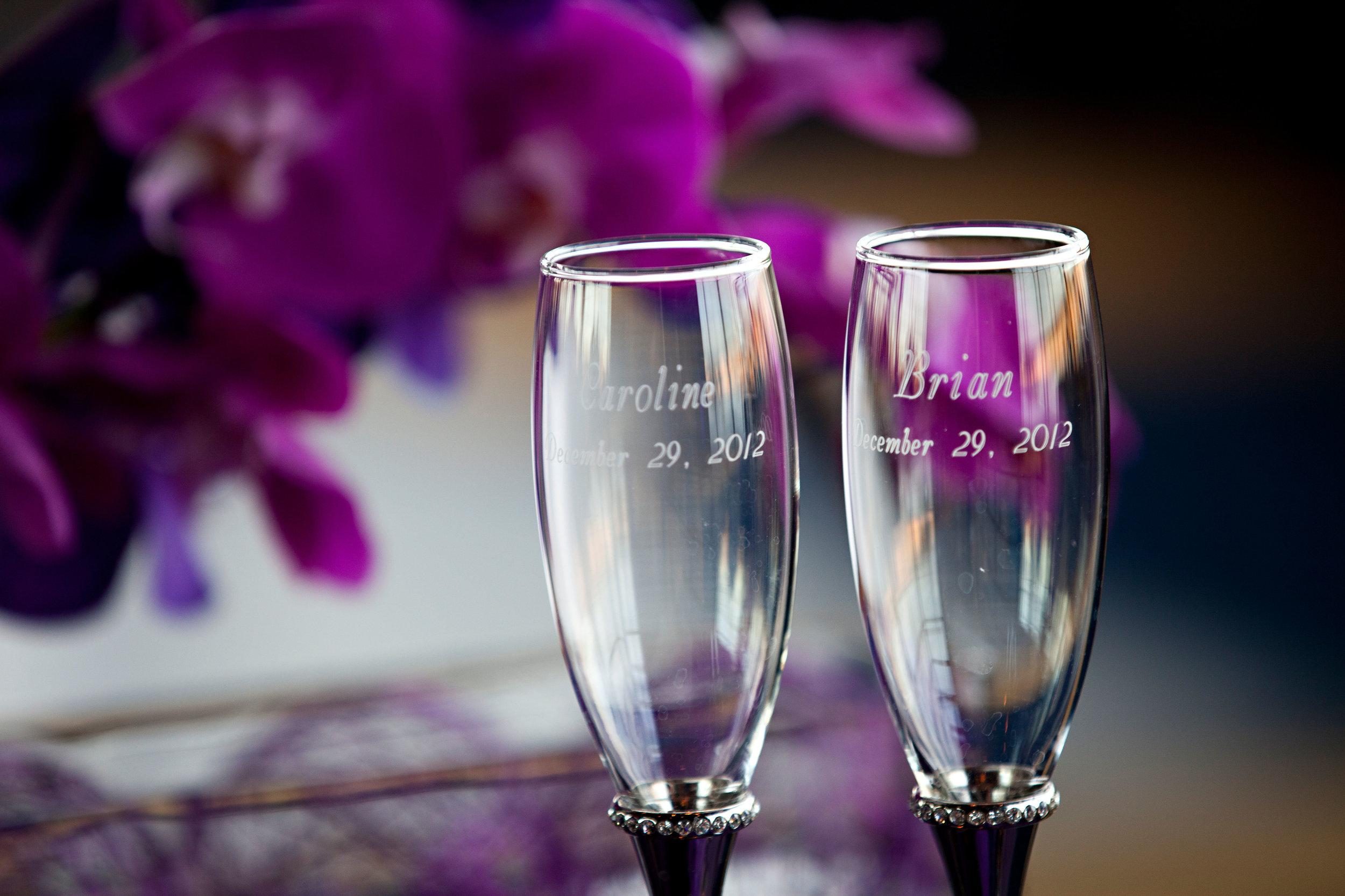 20 custom bride and groom glasses custom toasting glasses O Grace Photography Life Design Events.jpg