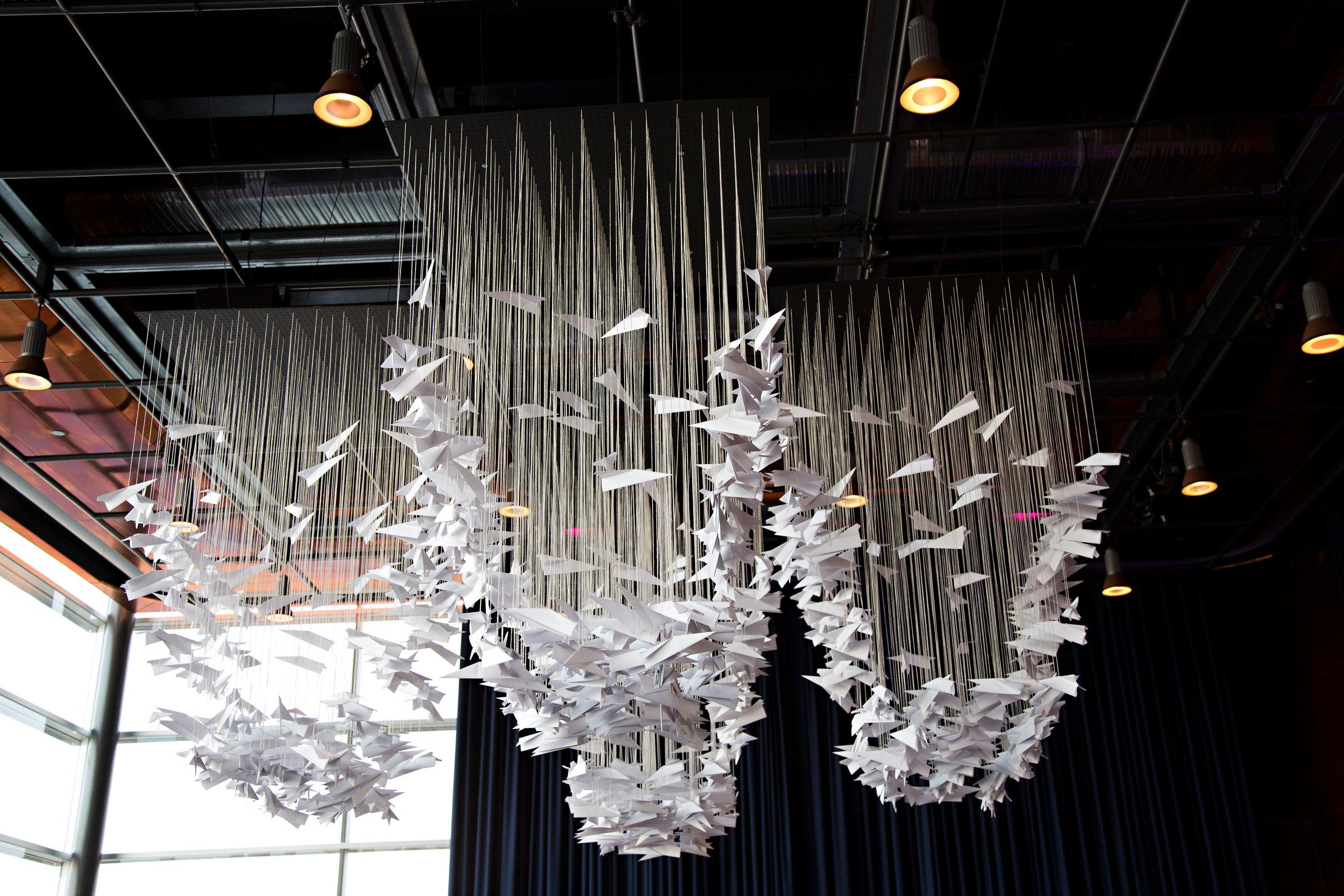 22 unique chandelier paper plane chandelier O Grace Photography Life Design Events  .jpg