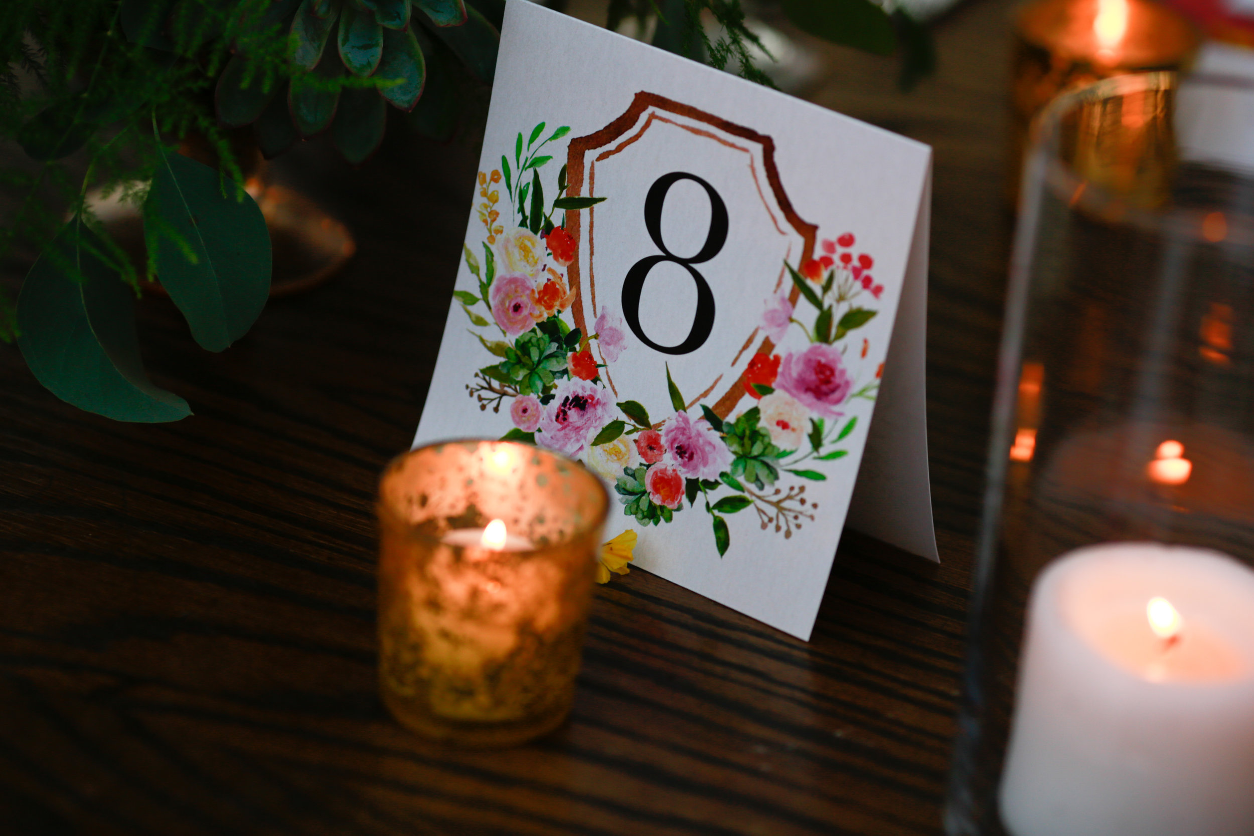 26 spring table numbers floral table numbers Mod Wed Photography Life Design Events.jpg