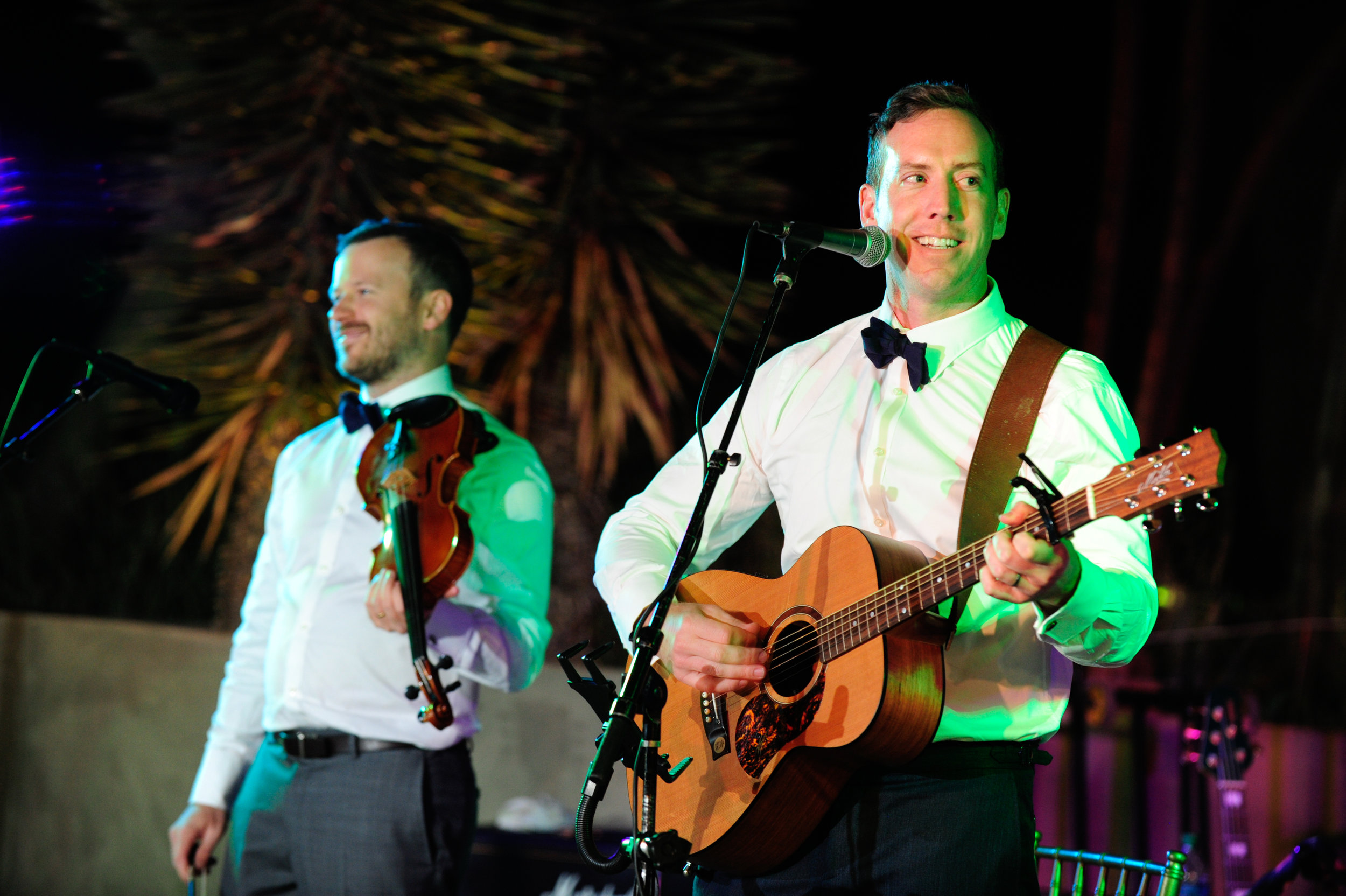 33 groom singing to bride groom singing with the band groom playing guitar groom at reception Mod Wed Photography Life Design Events.jpg