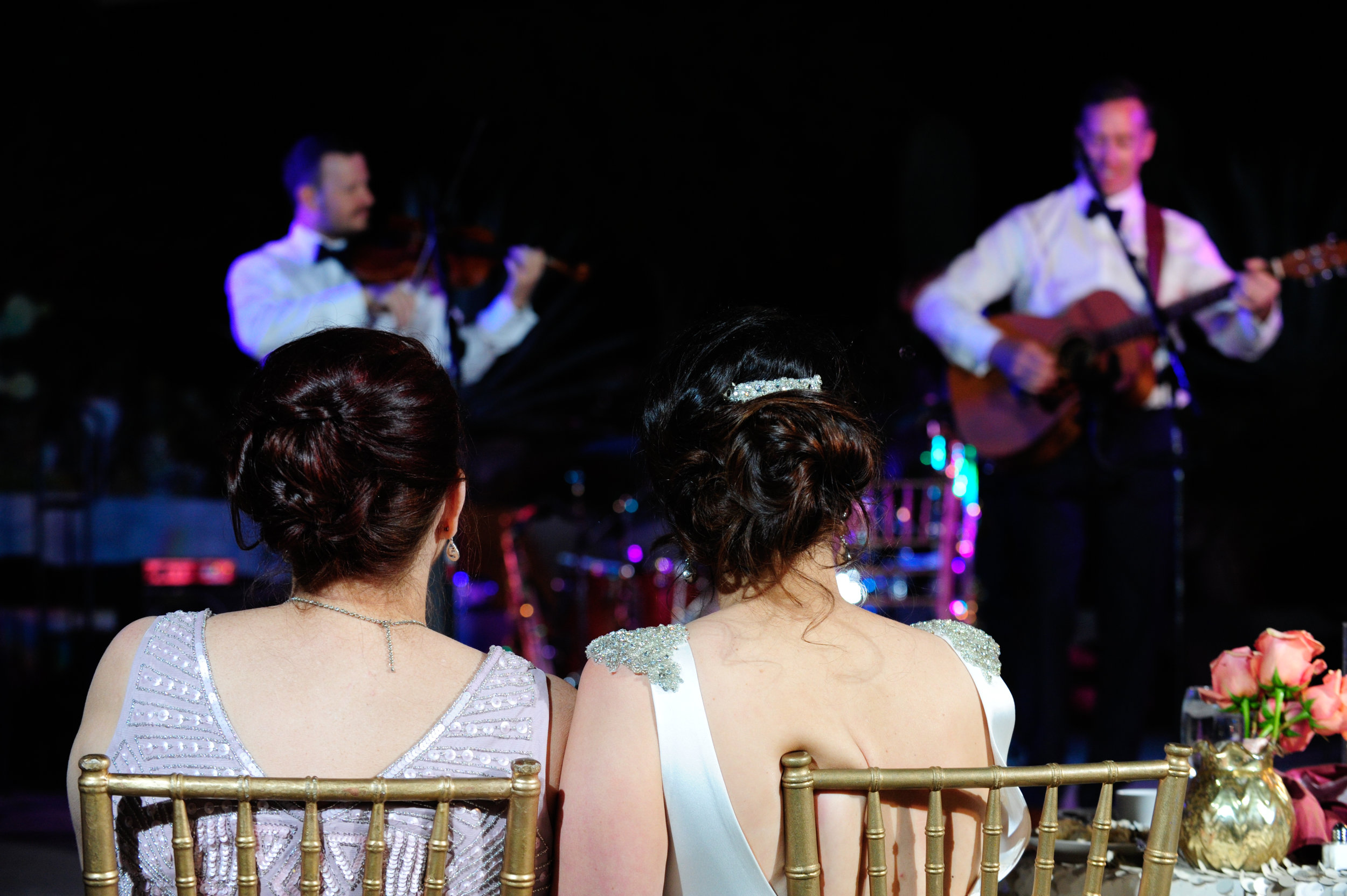34 bride with maid of honor groom singing to bride sweet groom gestures Mod Wed Photography Life Design Events.jpg