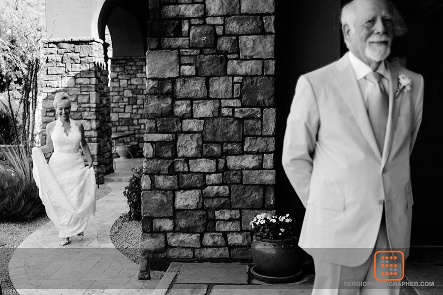 6 bride and groom first look bride surprising groom Sergio Photography Life Design Events.jpg