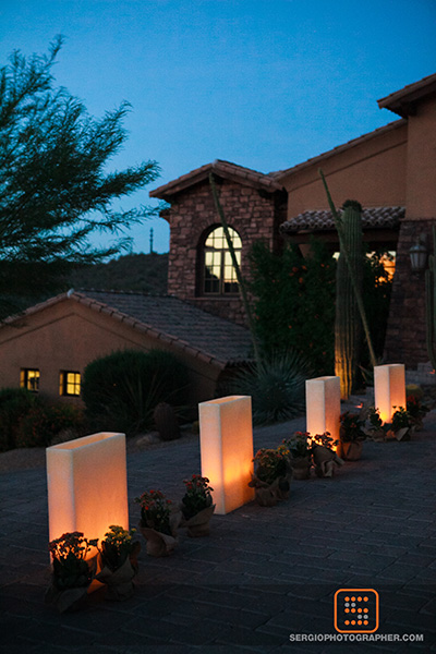 25 stairway to ceremony candles down the aisle Sergio Photography Life Design Events.jpg