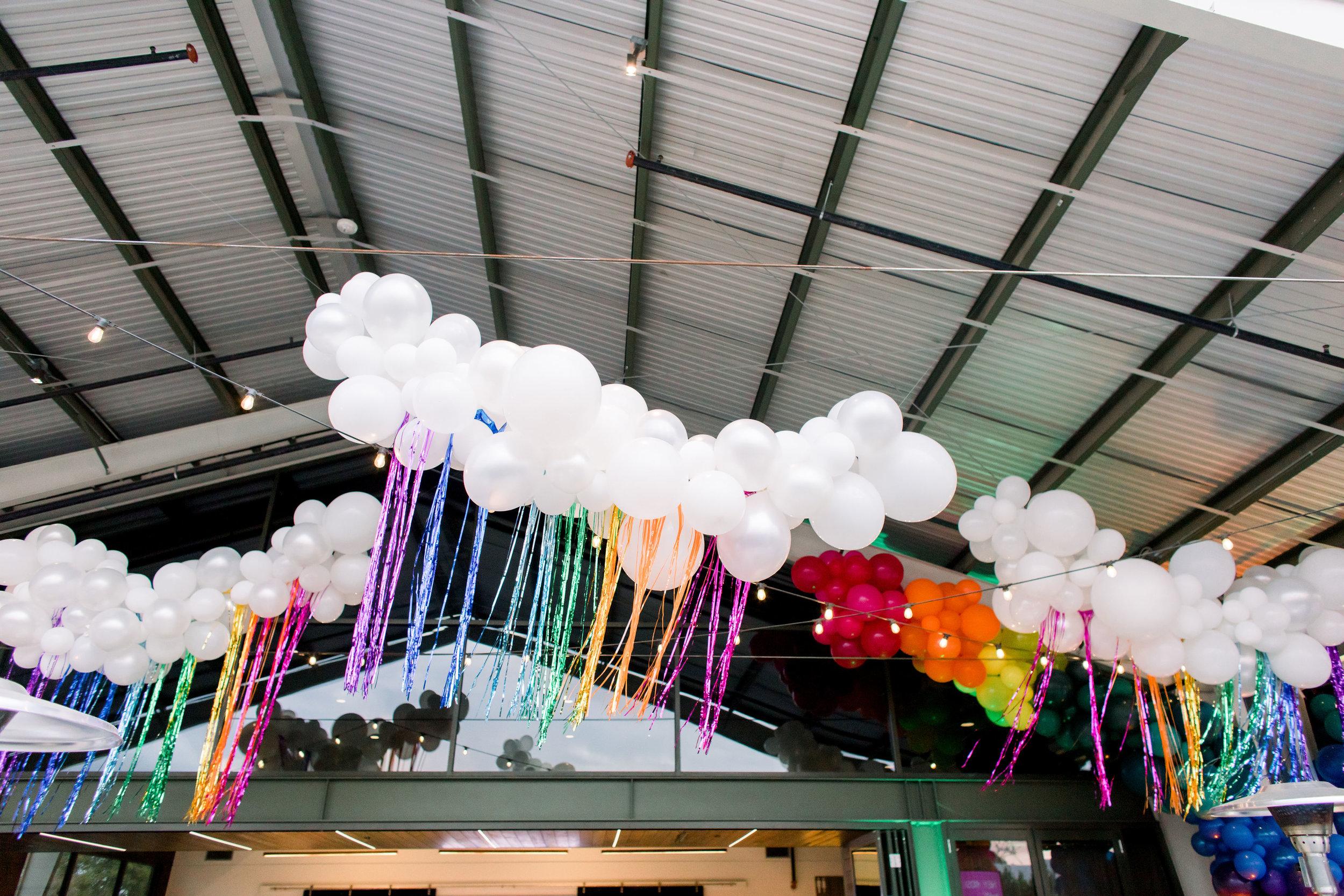 13 balloon cloud rainbow streamers rainbow bat mitzvah party Life Design Events photos by Stephanie Heymann Photography.jpg