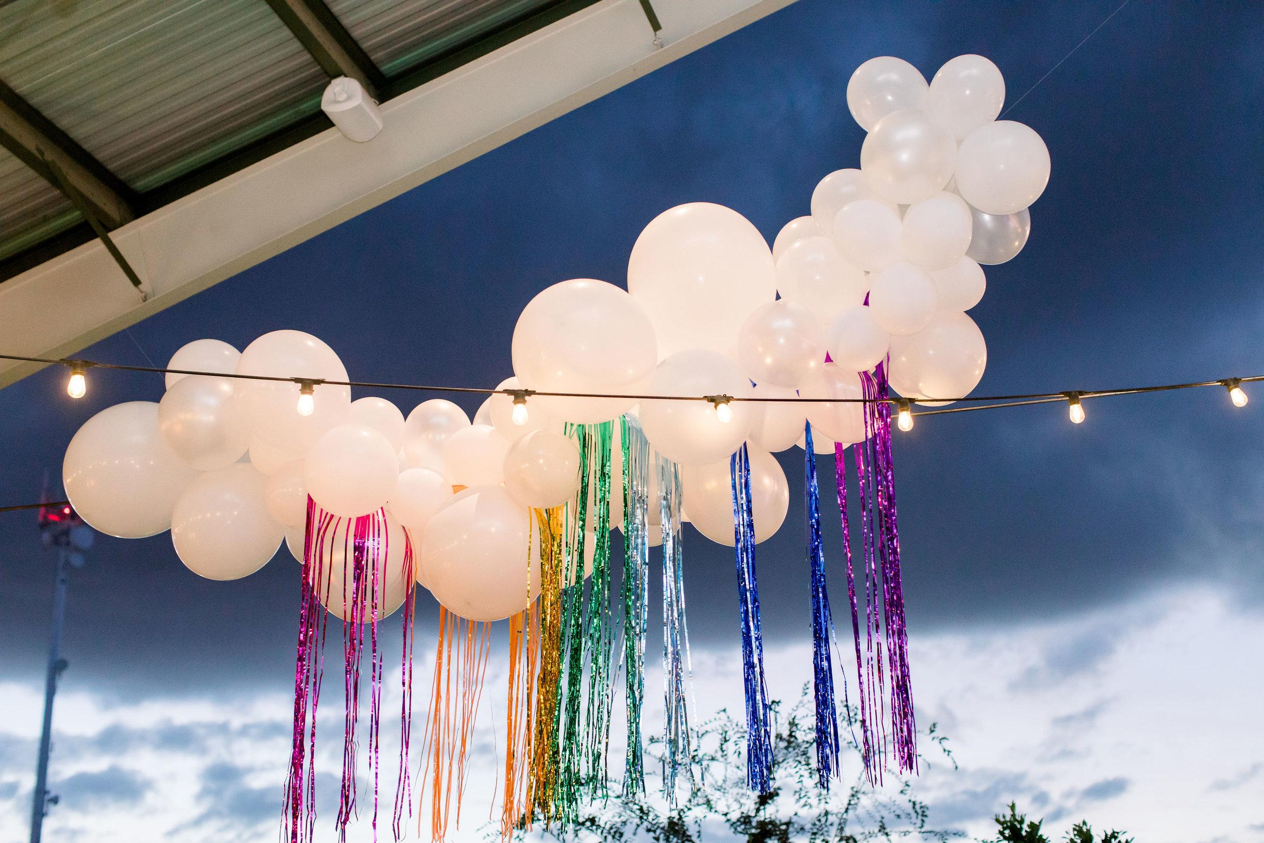 14 balloon clouds rainy sky rainbow streamers rainbow bat mitzvah party Life Design Events photos by Stephanie Heymann Photography.jpg