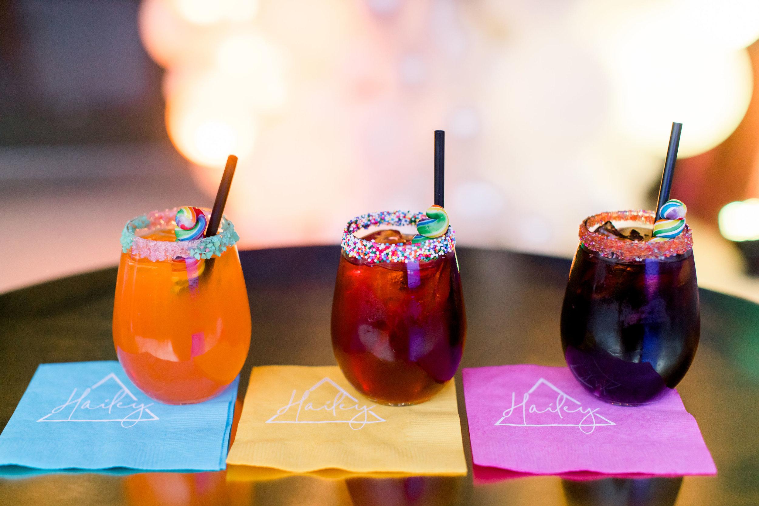 42 custom mocktail custom cocktail personalized logo cocktail napkins cocktail hour specialty cocktails Life Design Events photos by Stephanie Heymann Photography.jpg