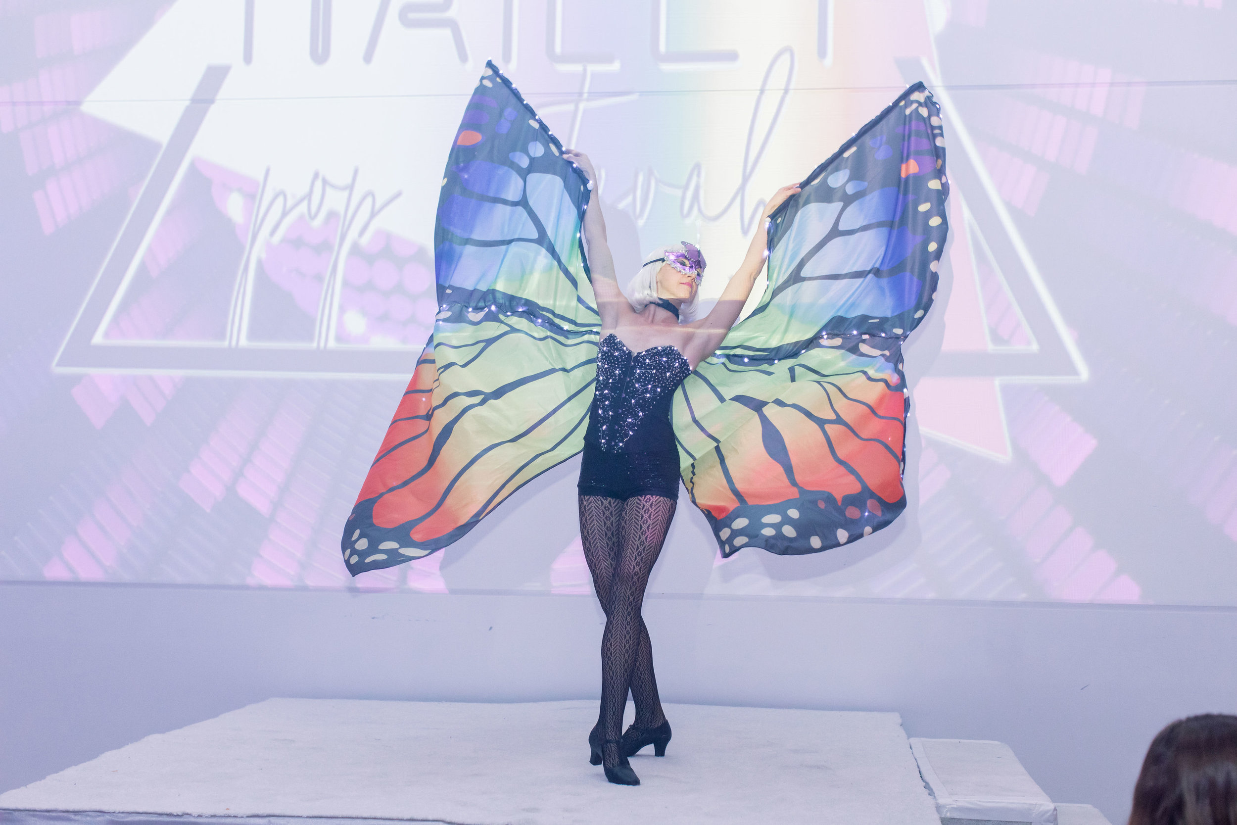 46 rainbow bat mitzvah butterfly wing glow dancer bat mitzvah party entertainment custom light projection Life Design Events photos by Stephanie Heymann Photography.jpg