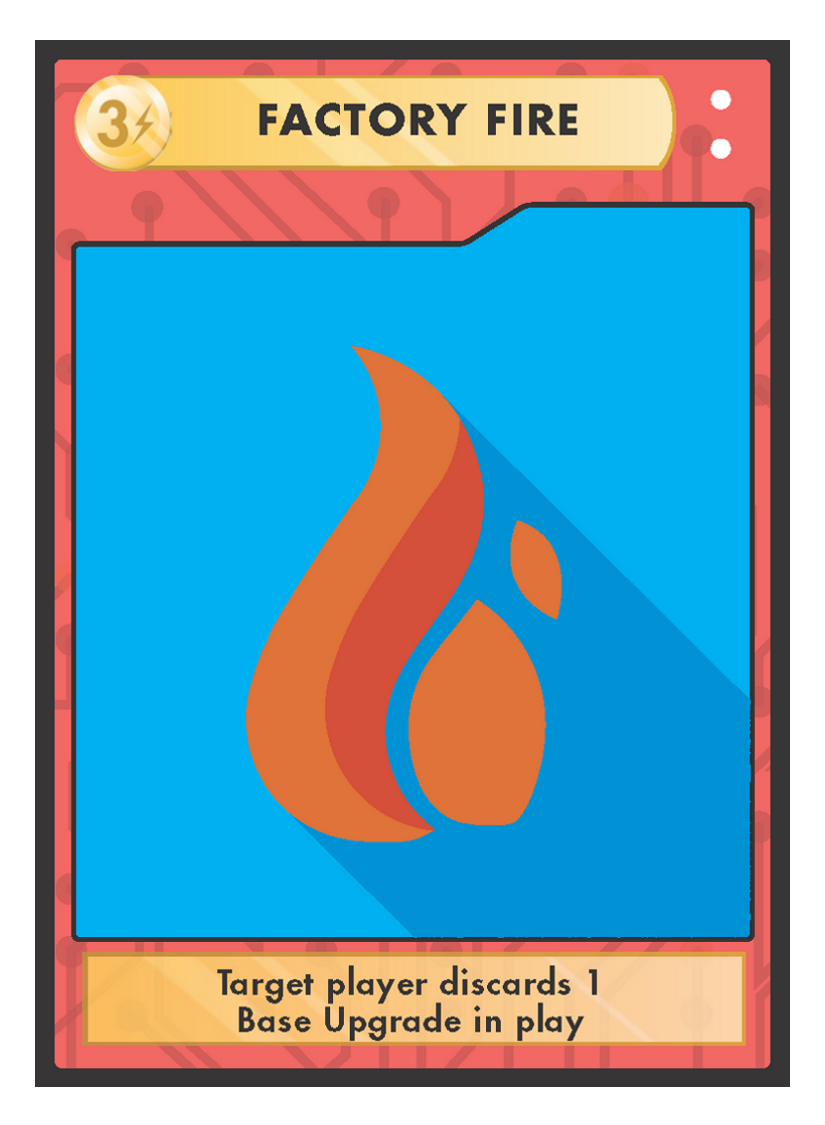 SabotageCards   You can play sabotage cards at any time during your turn as long as you have the energy to pay for them. Use them to destroy your opponent's chances of winning!