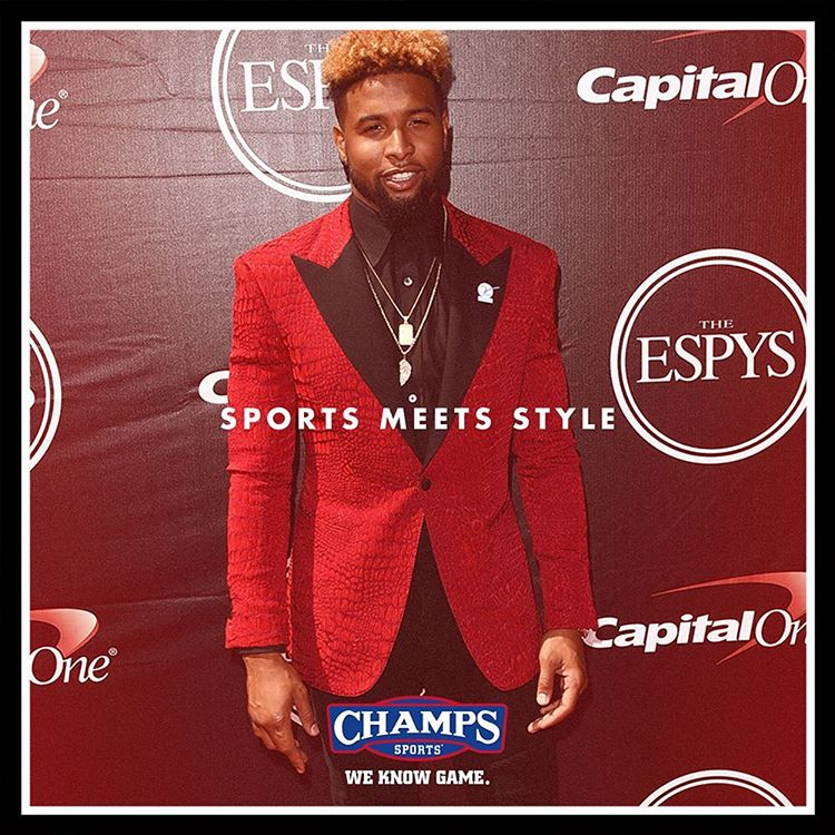 """Last year, @iam_objxiii stole the show. Let's see who brings the static to the red carpet at this years #ESPYs"