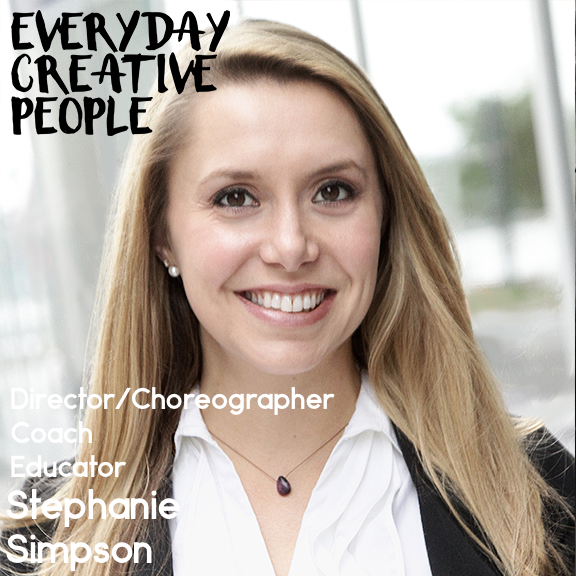 """Creative Stress Management"" - I spoke with Dena Adriance on her podcast ""Everyday Creative People"" about the intersections of leadership, creativity, and stress management.https://denaadriance.com/stephanie-simpson-on-creative-stress-management/"