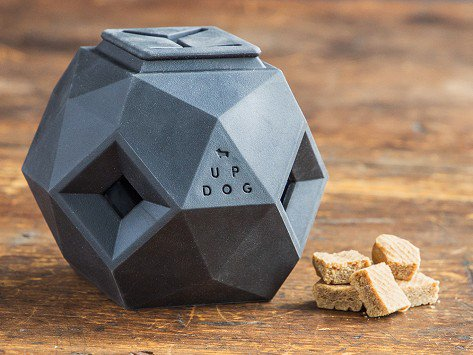 The Odin byUP DOG - Make food even more interesting to your dog by giving them The Odin filled with treats. They'll work off their energy rolling and tossing it around and get rewarded for their effort.