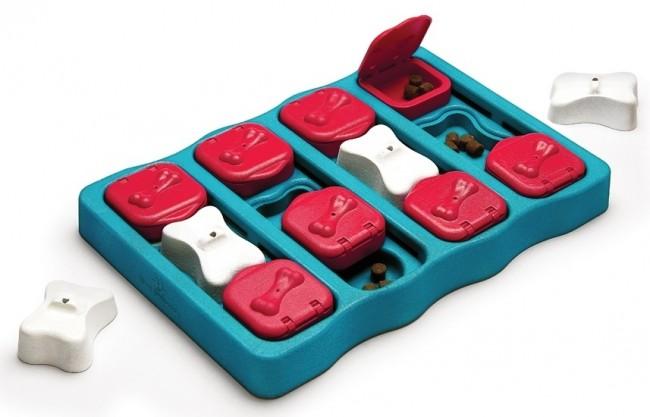 Nina Ottosson Puzzle Brick Dog Toy -