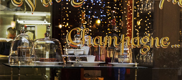 Paris Cafe Window