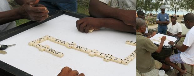 Dominoes in Barbados