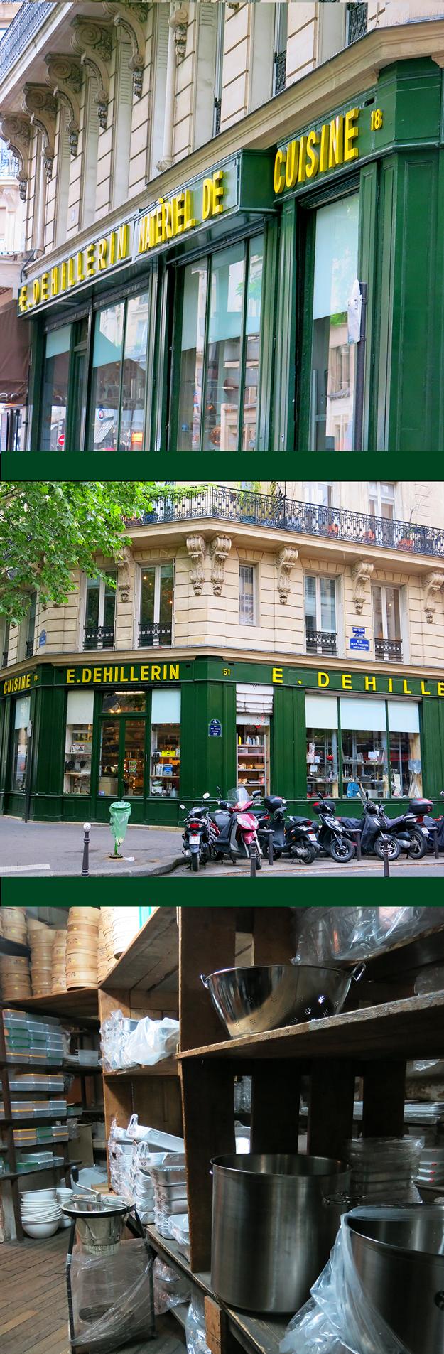 E. Dehillerin, Paris France