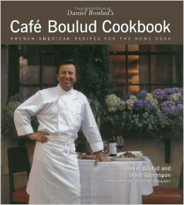 I think Chef Boulud's book will be fun in a challenging and sophisticated way. His menus are always beautiful and delicious.