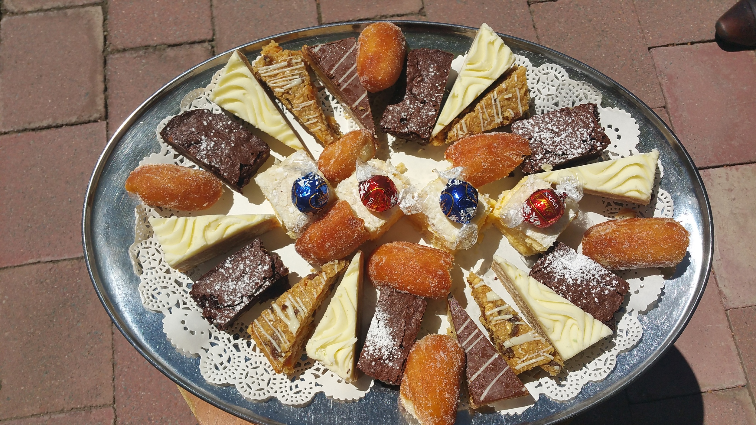 Cakes, Slices & Chocolates Platter