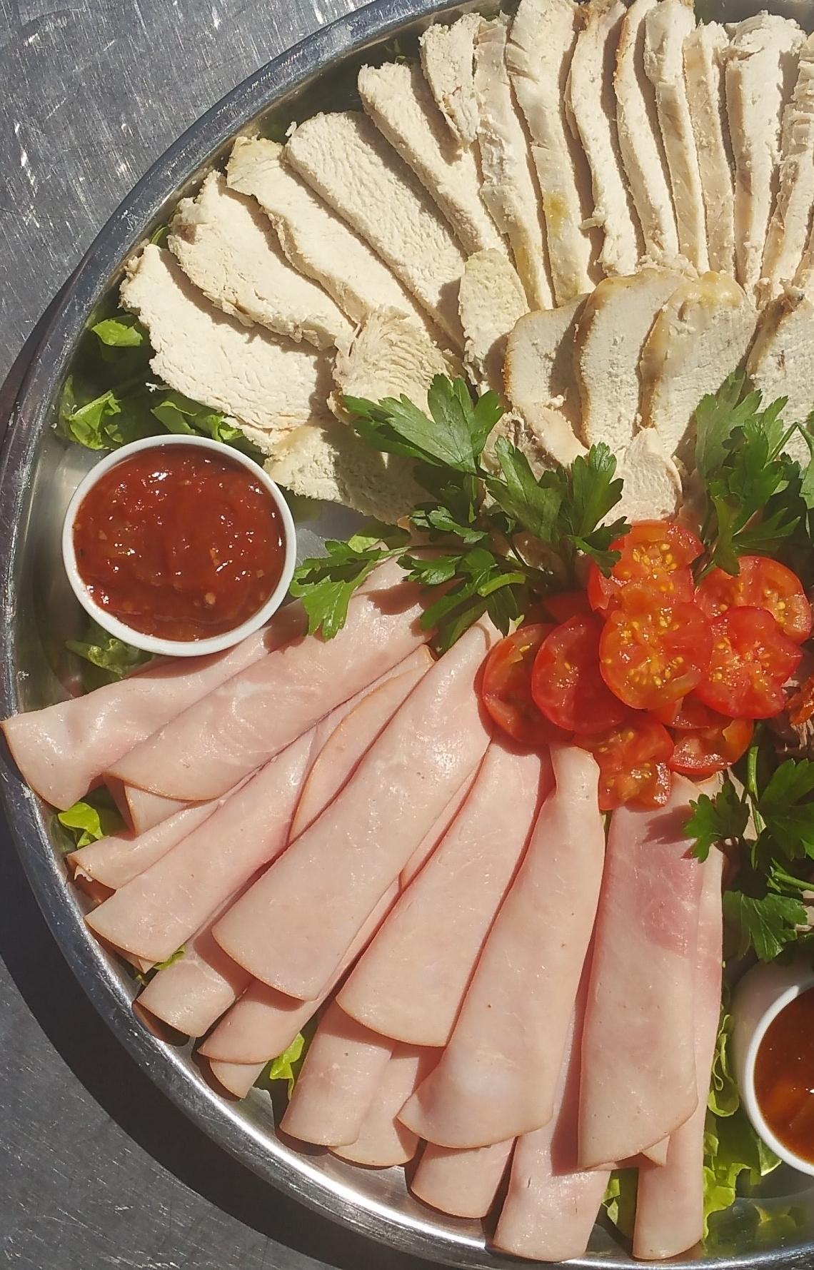Cold Roast Meats Platter
