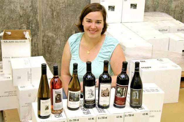 Cote Bonneville's superstar winemaker, Kerry Shiels.