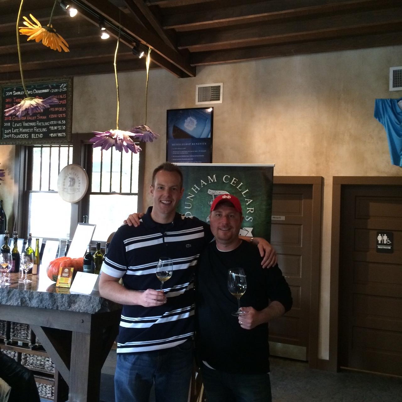 Reviewing the new Dunham releases with superstar winemaker, Dan Wampfler