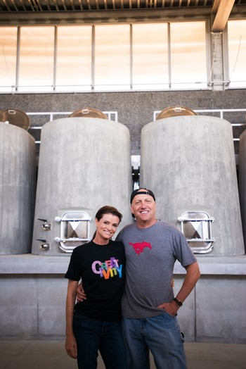 Owners Bill and Liz Armstrong are geologists that have created a fantastic Paso Robles winery, Epoch Wines.