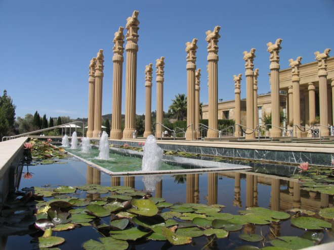 One of the most gorgeous Napa wineries has to be Darioush.