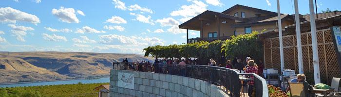 Gorgeous views at Maryhill Winery