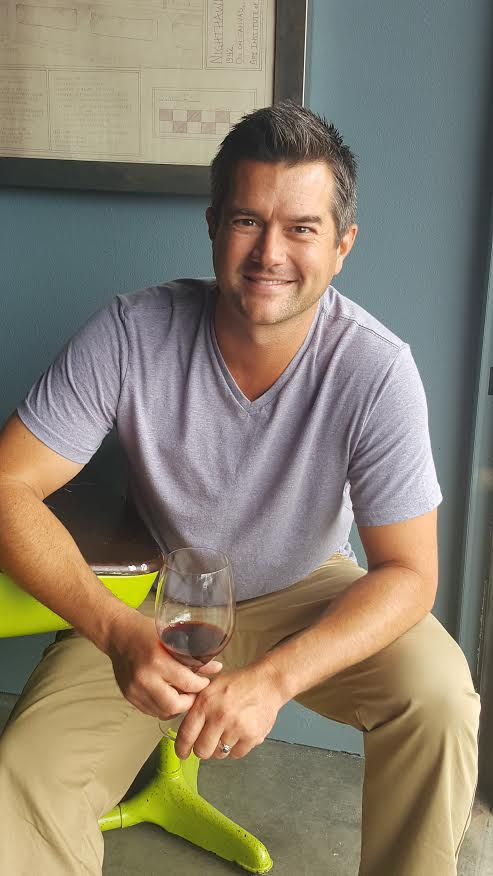 Great shot here of head winemaker of Two Vintners and Covington Cellars, Morgan Lee