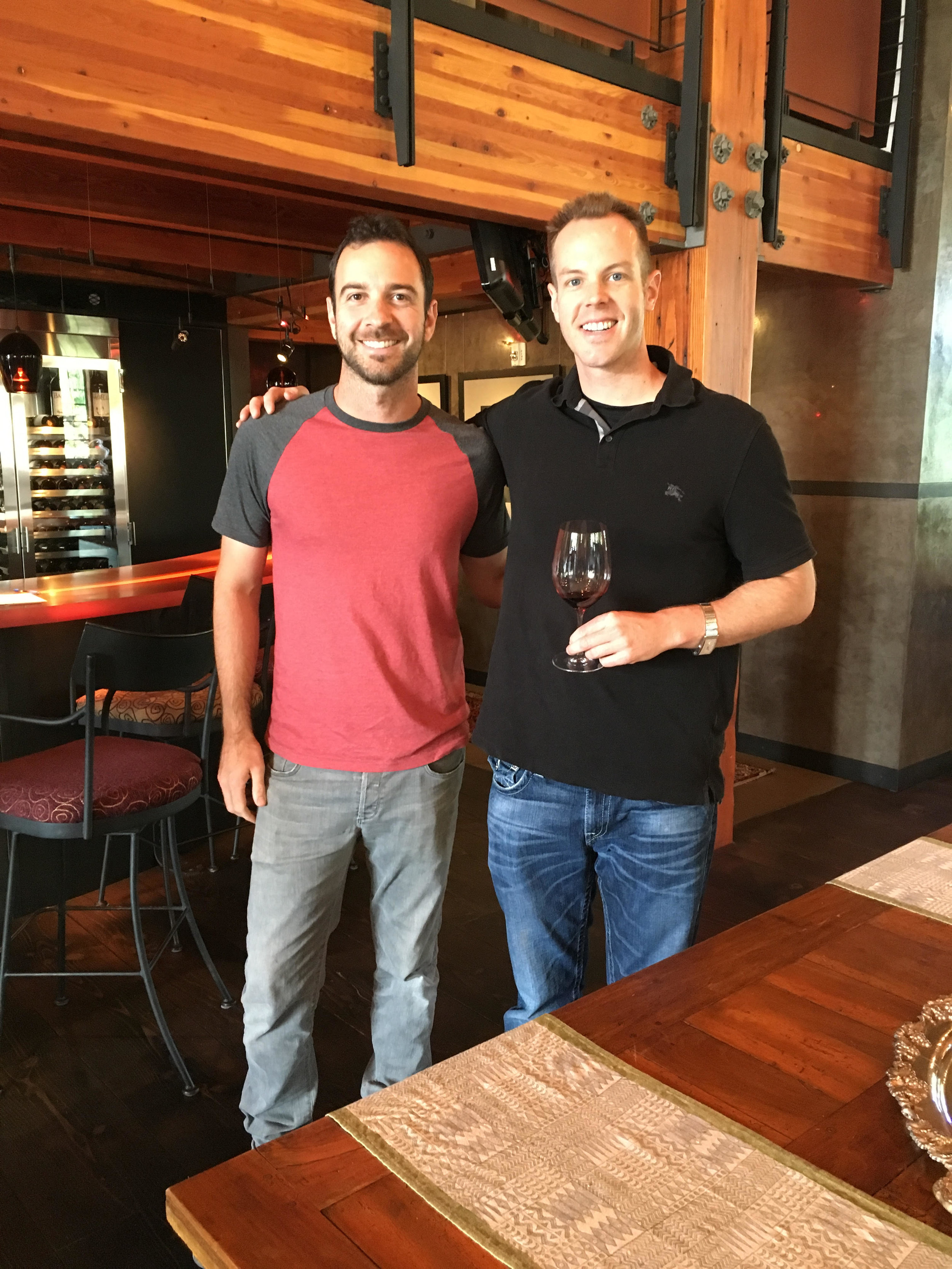 I had the chance to catch up with superstar winemaker at Corliss Estates, Alexander Trio, during my visit there a month ago. He has created some fantastic new release wines.