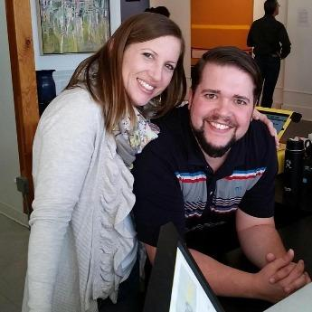 Great shot here of Ardor Cellars owners Brandon and Emma Kubrock, who have some awesome new release wines