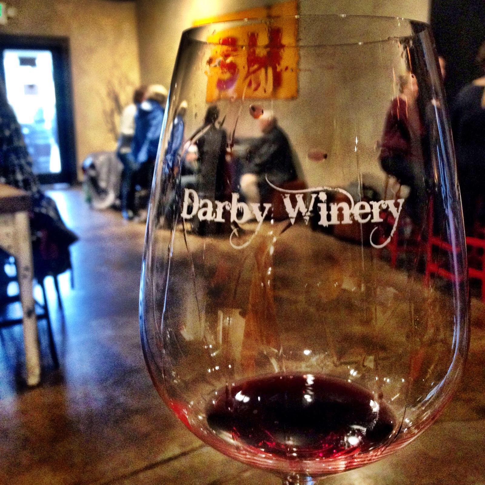 Darby has a beautiful and modern tasting room in Woodinville.