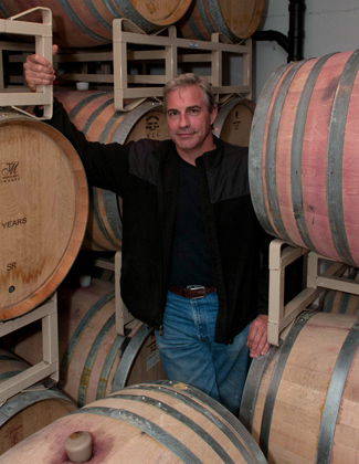 Great photo here of superstar winemaker and owner of Tendril, Tony Rynders