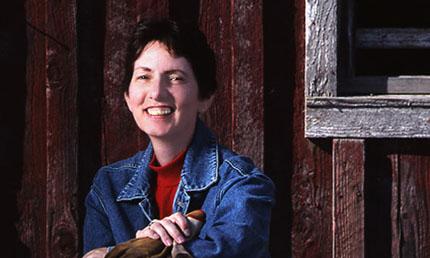 Great photo here of Snoqualmie winemaker, Joy Anderson