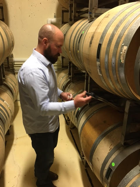 We had an awesome time doing some barrel tasting with highly talented winemaker Brent Stone of King Estate