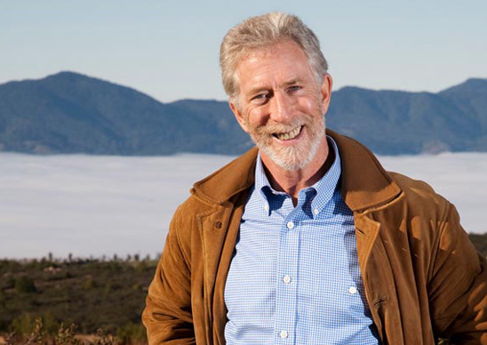 Awesome photo here of Contiuum founder and winemaker, Tim Mondavi.
