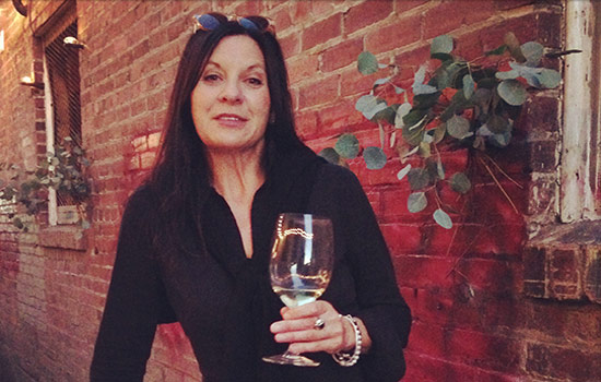 Great photo here of Mary Derby of DaMa Wines