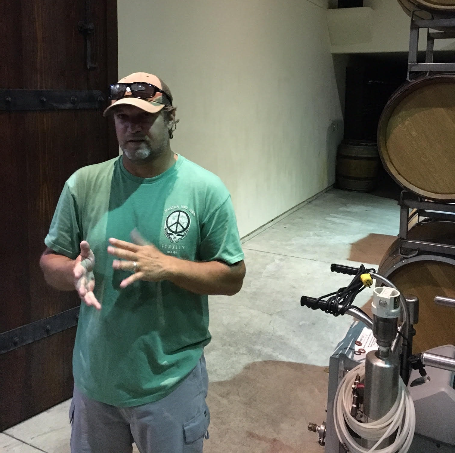 We had an awesome time hanging out wth Melville head winemaker, Chad Melville.