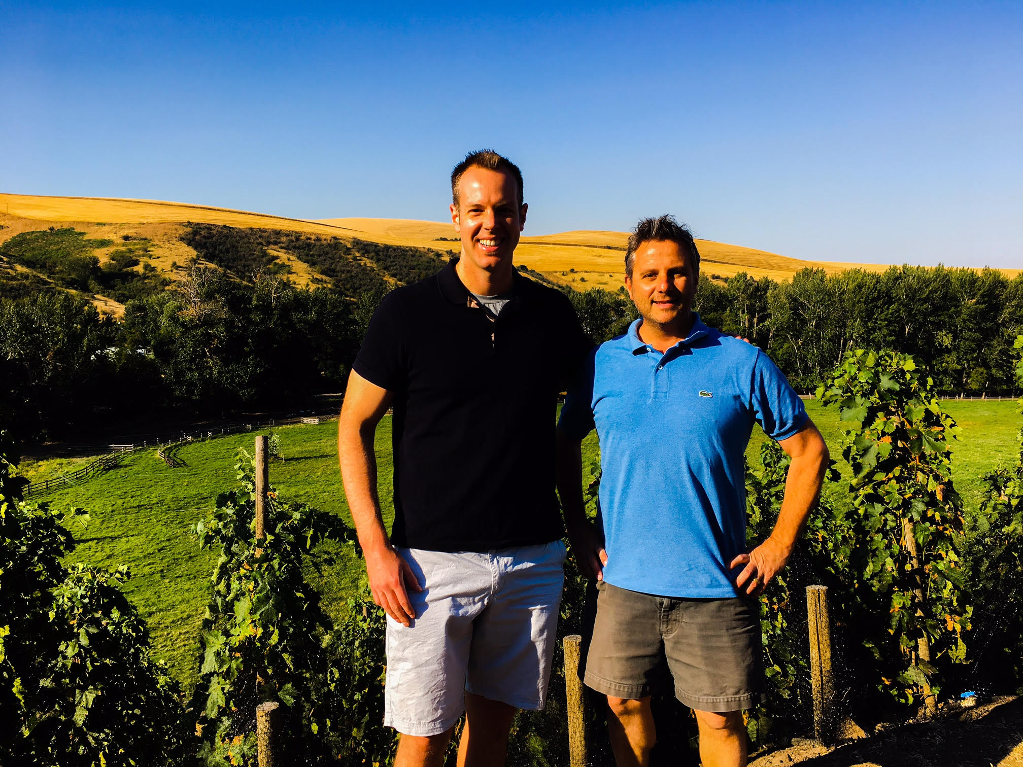 It was an awesome time hanging out with superstar vigneron, Christophe Baron, of Cayuse Vineyards
