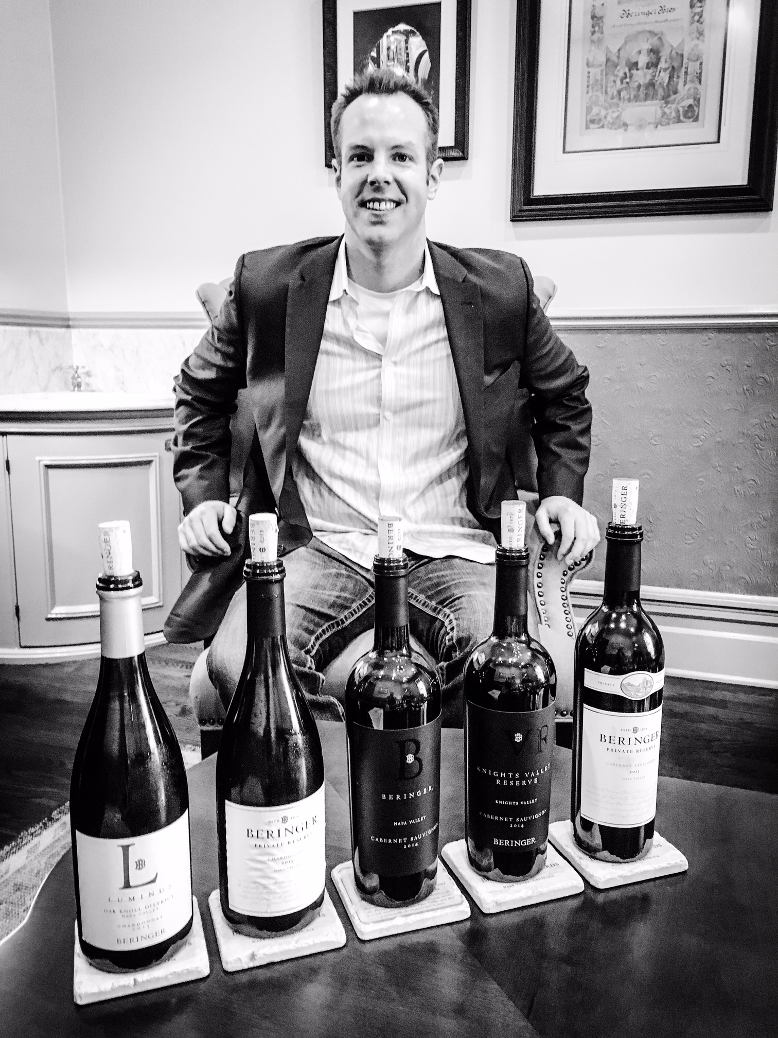The new lineup of Beringer wines was absolutely stunning.