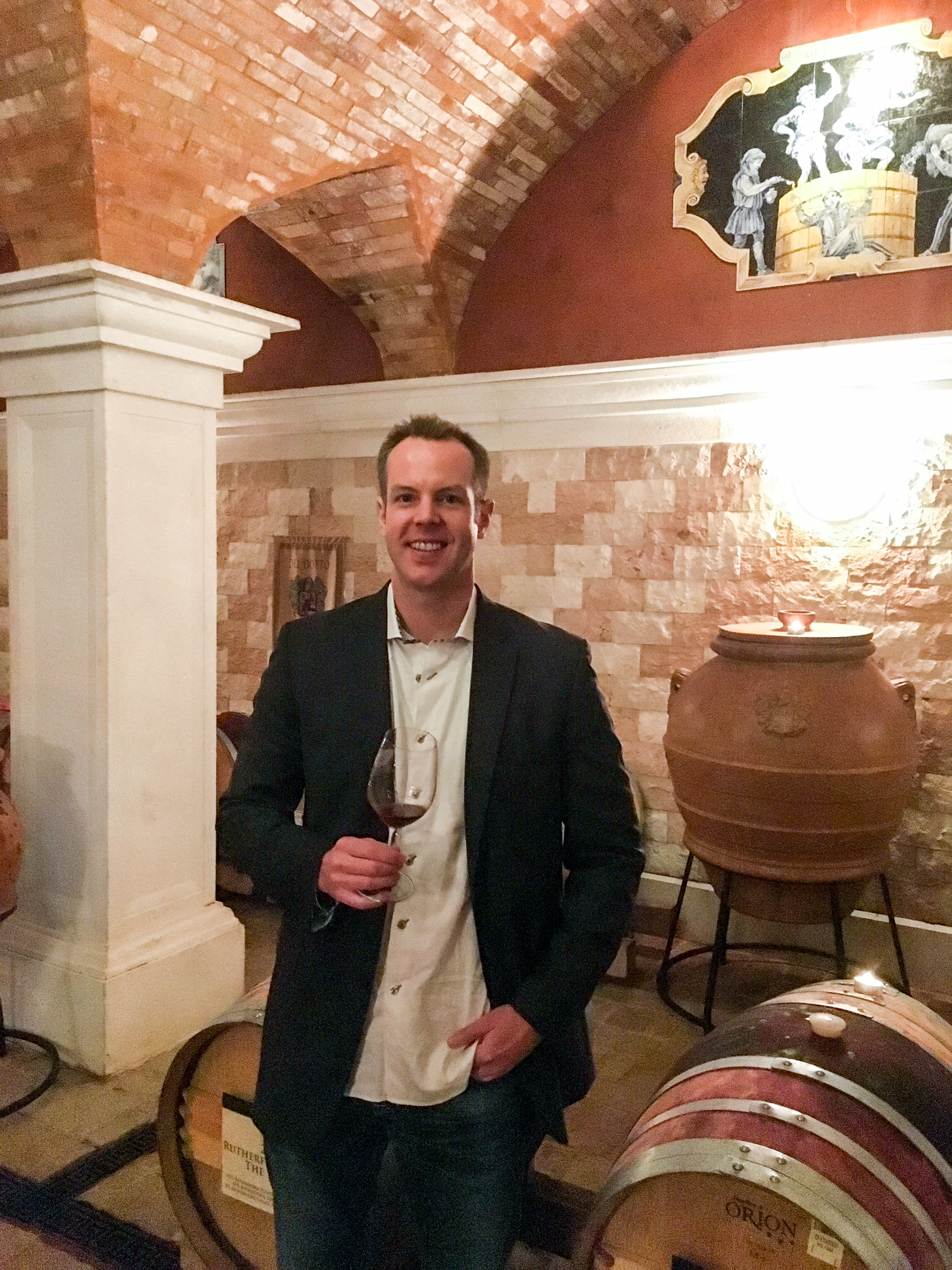 The cave at Del Dotto is one of the most stunning sites to taste wine in California.