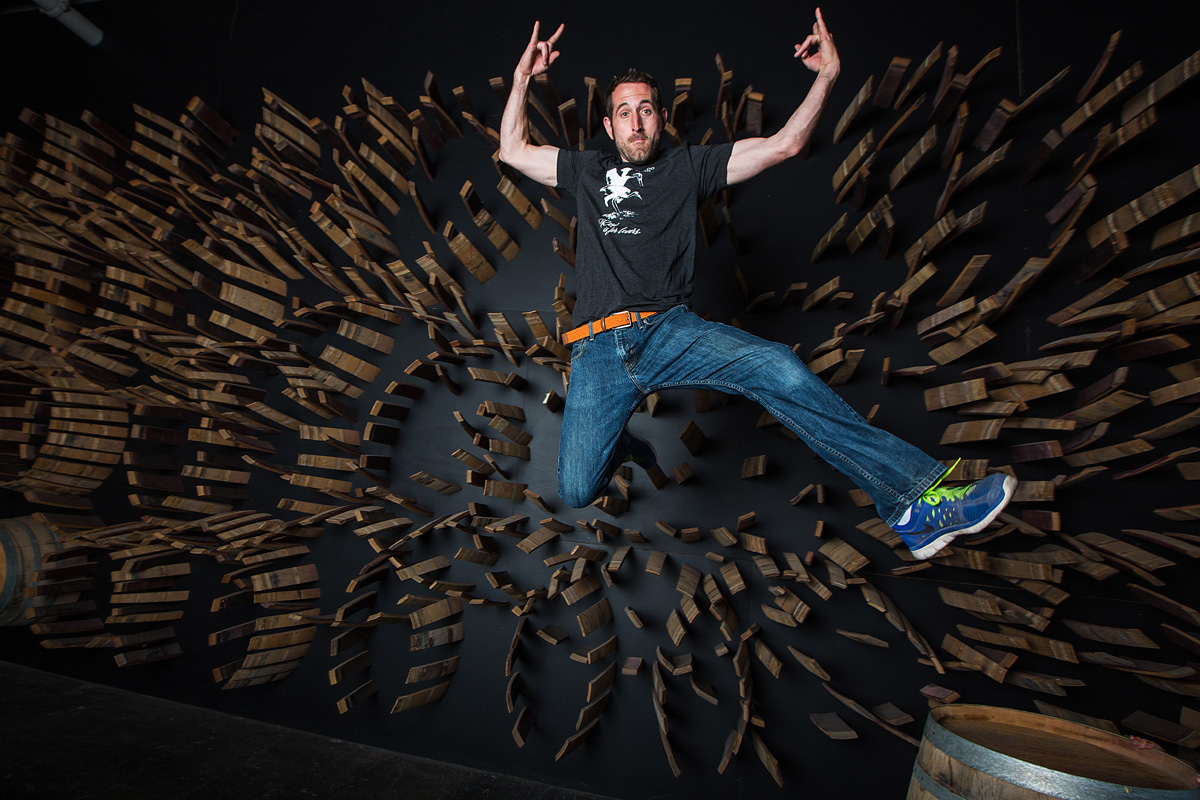 Ryan Crane crafts some absolutely awesome wines at his winery, Kerloo Cellars