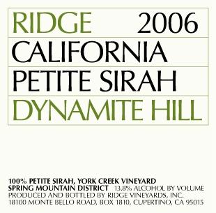 Ridge 2006 Petite Sirah.jpg