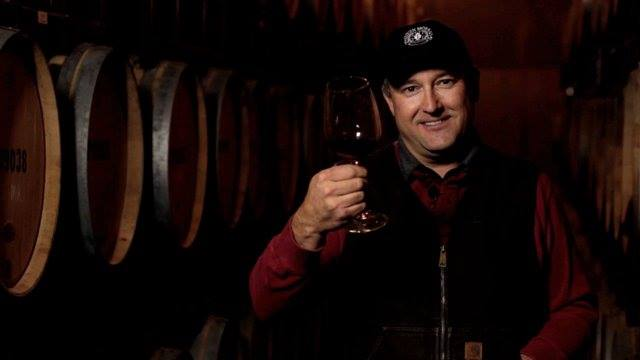 Great photo here of Pepper Bridge head winemaker Jean-Francois Pellet