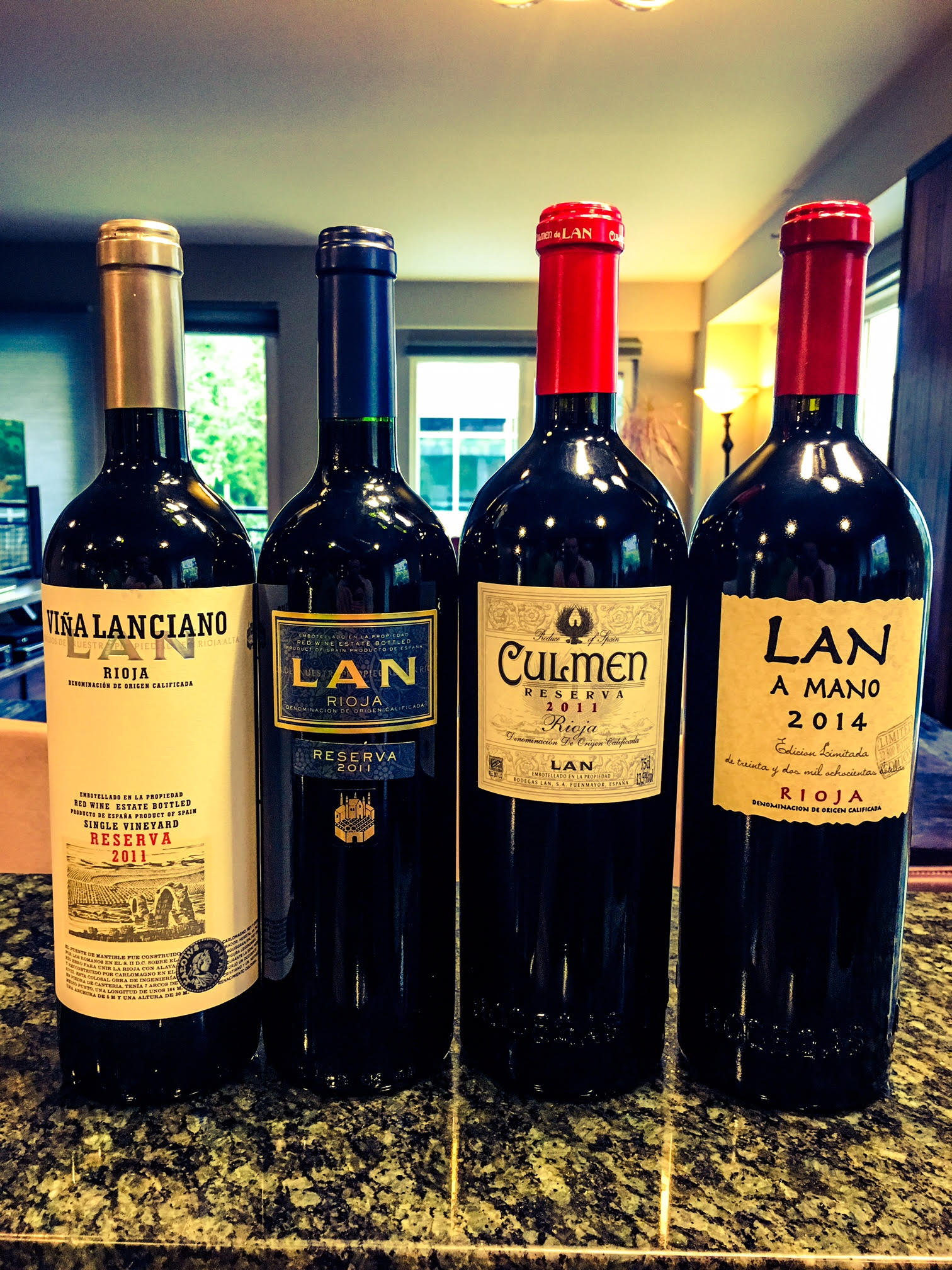 The stunning new release wines by Bodegas LAN