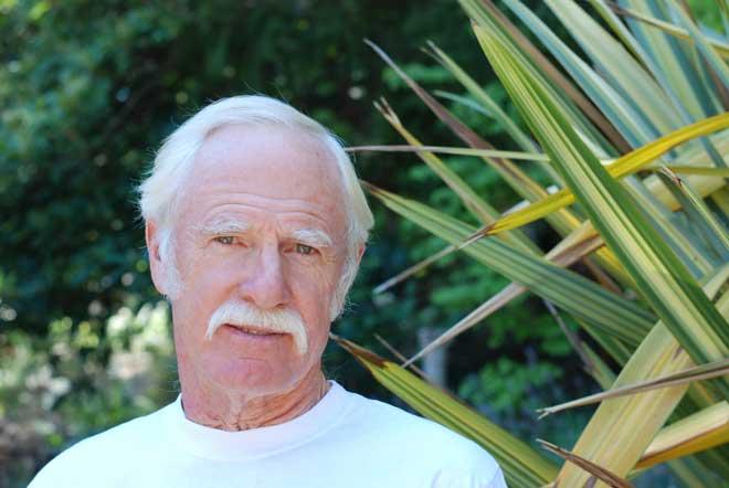 Great photo here of iconic Napa winemaker, Randy Dunn.