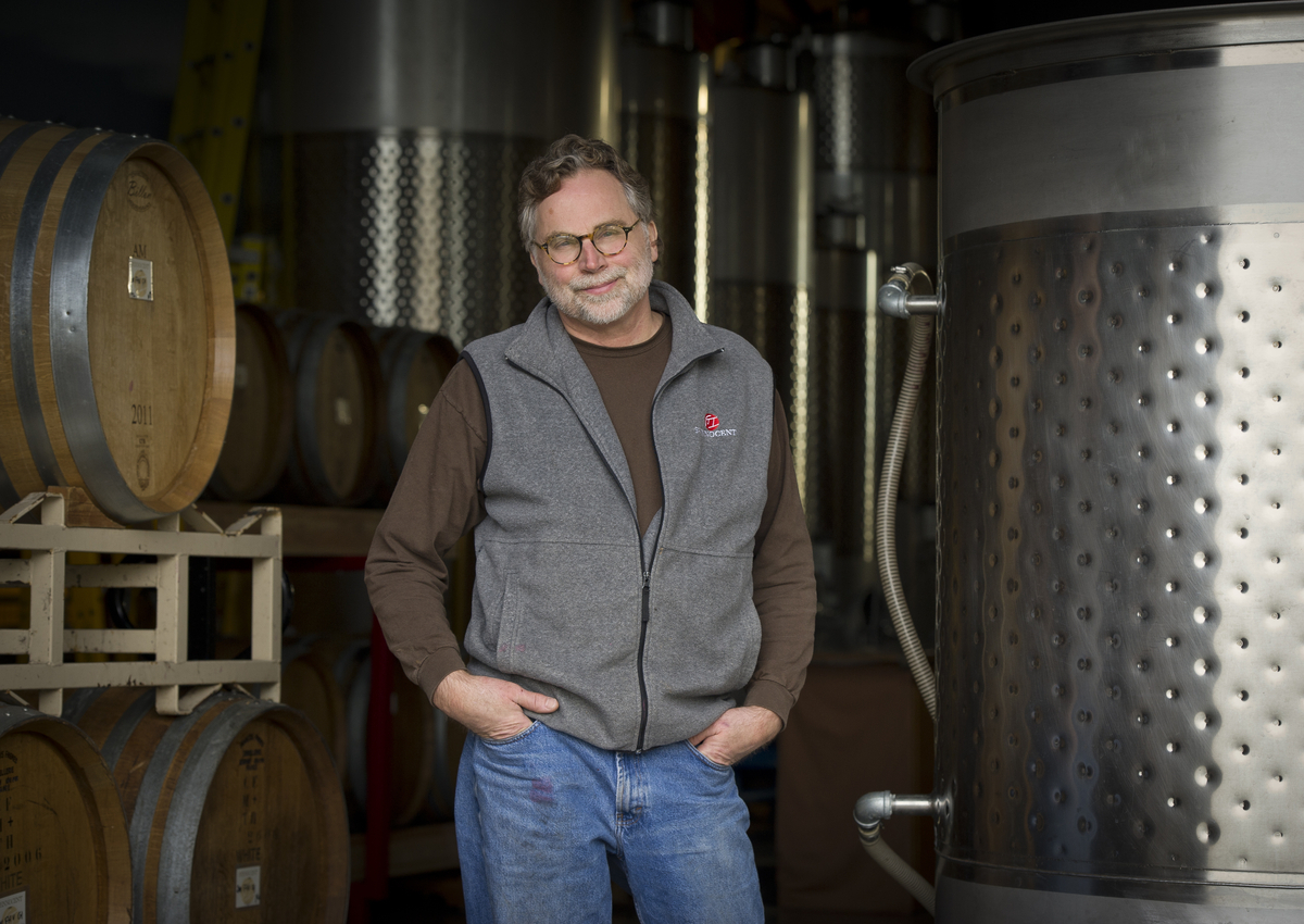 Mark Vlossak, of St. Innocent, is one of the great Oregon winemakers.