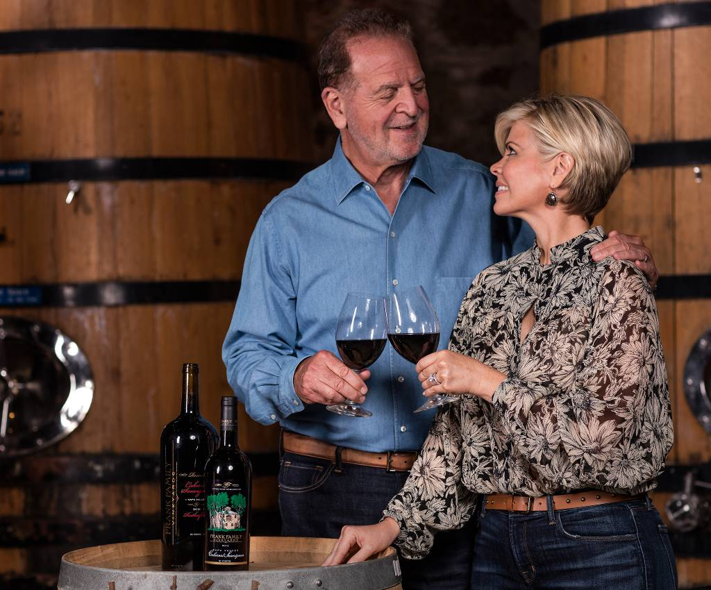 Rich and Leslie Frank are the founders of Frank Family Vineyards.
