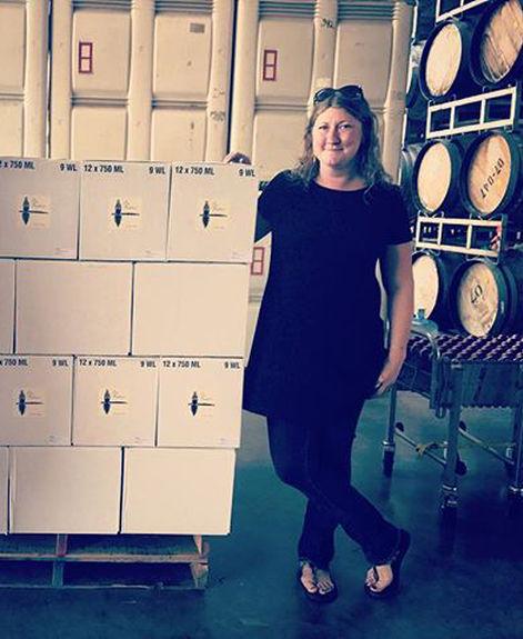 Jacki Evans, Owen Roe winemaker, serves as winemaker for Sin Banderas.