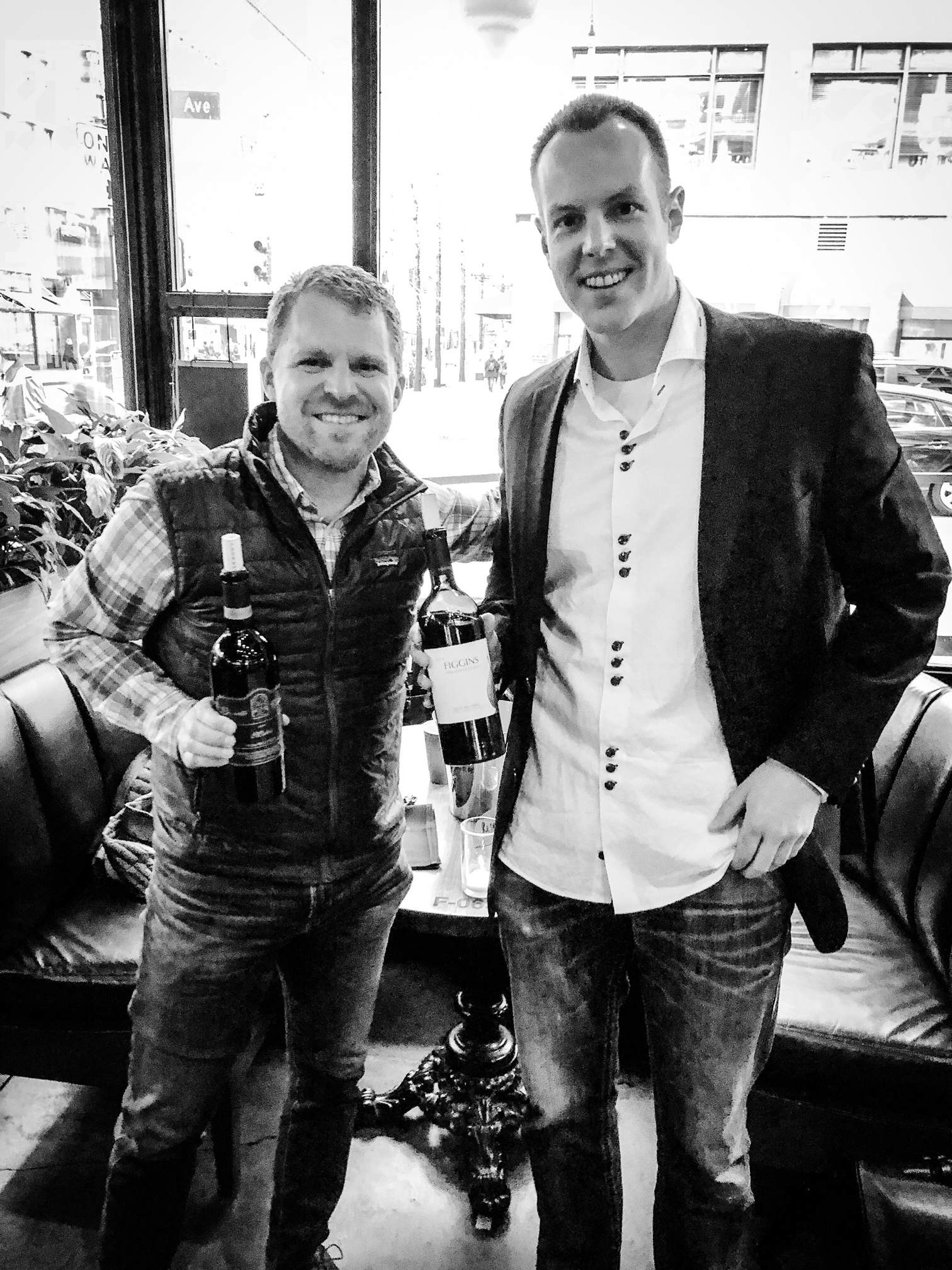 It was a fantastic afternoon of talking wine with superstar winemaker, Chris Figgins, of Leonetti Cellar.