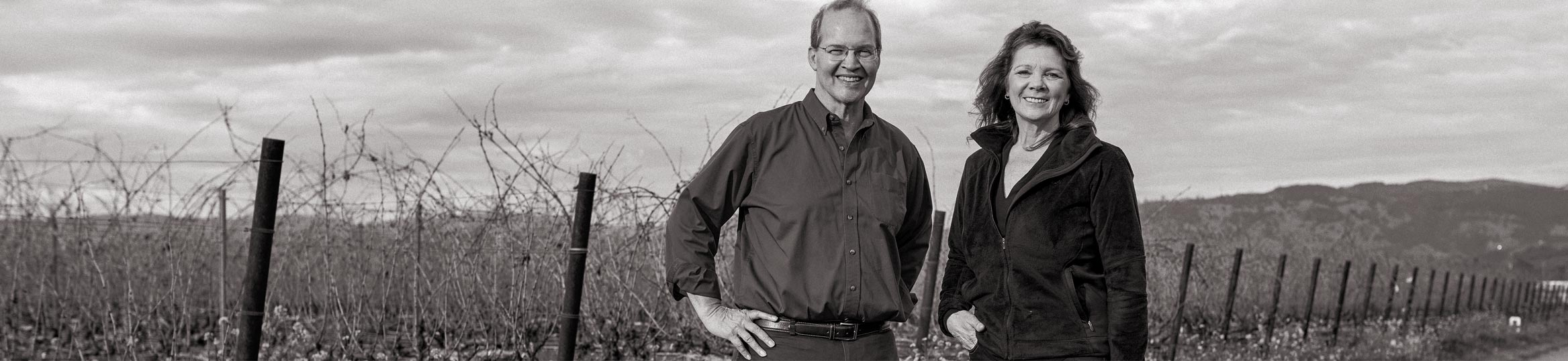 Cornerstone Cellars relies on the winemaking talents of Charles Thomas and Kari Auringer.